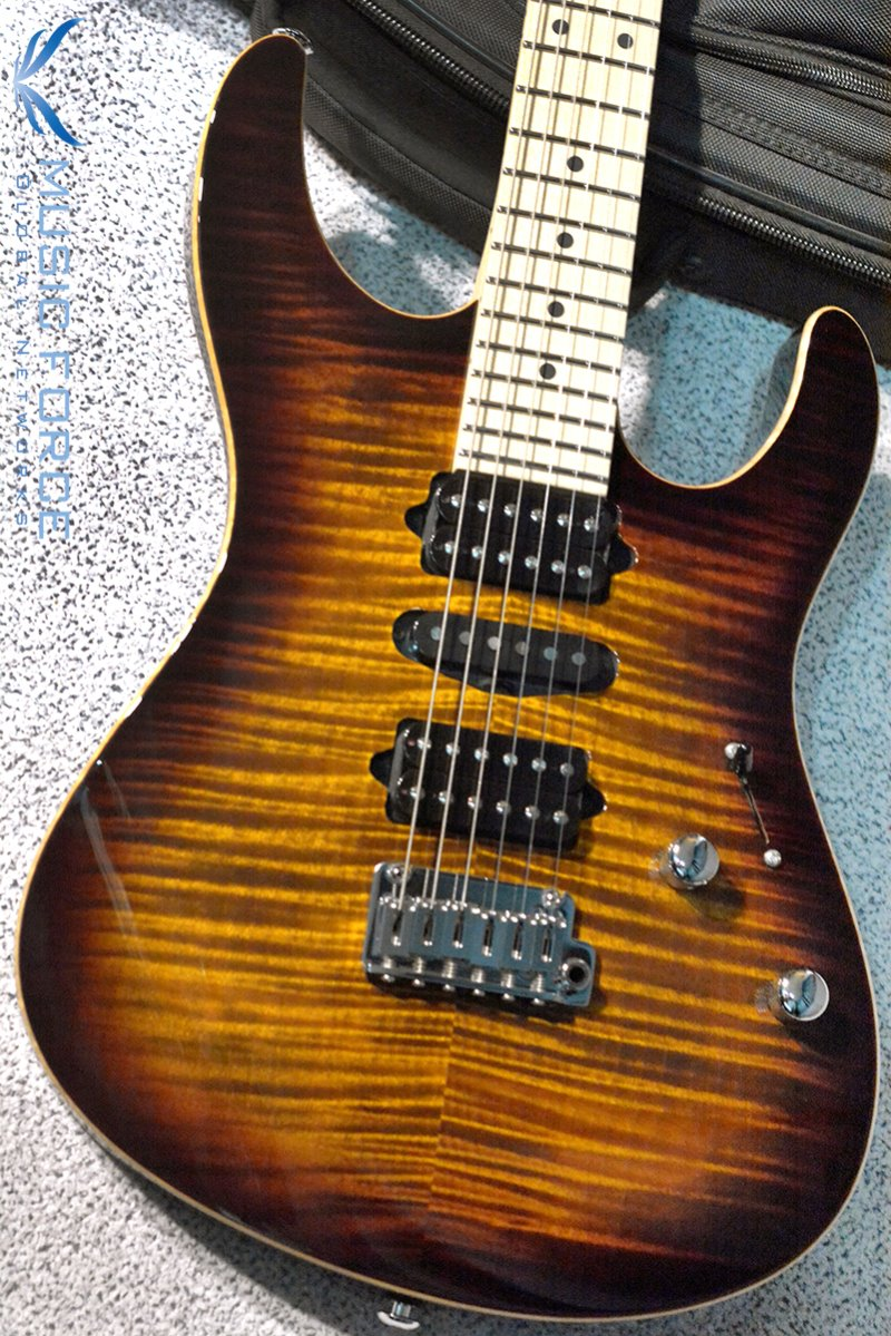 [창사12주년기념세일(~6/30까지)] Suhr Modern Pro HSH FMT-Bengal Burst w/Maple FB & Match Figured Headstock(2015년산/신품)