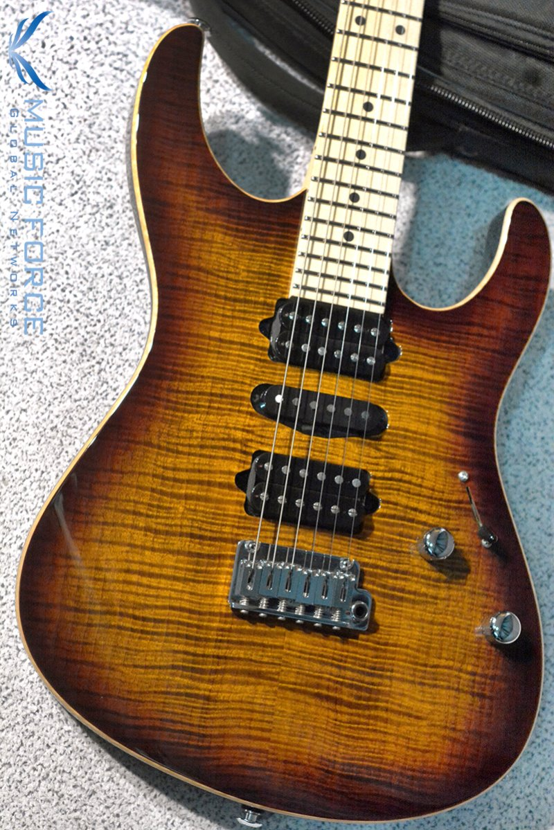 [창사12주년기념세일(~6/30까지)] Suhr Modern Pro HSH FMT Bengal Burst w/Maple FB & Match Figured Headstock #2(2015년산/신품)