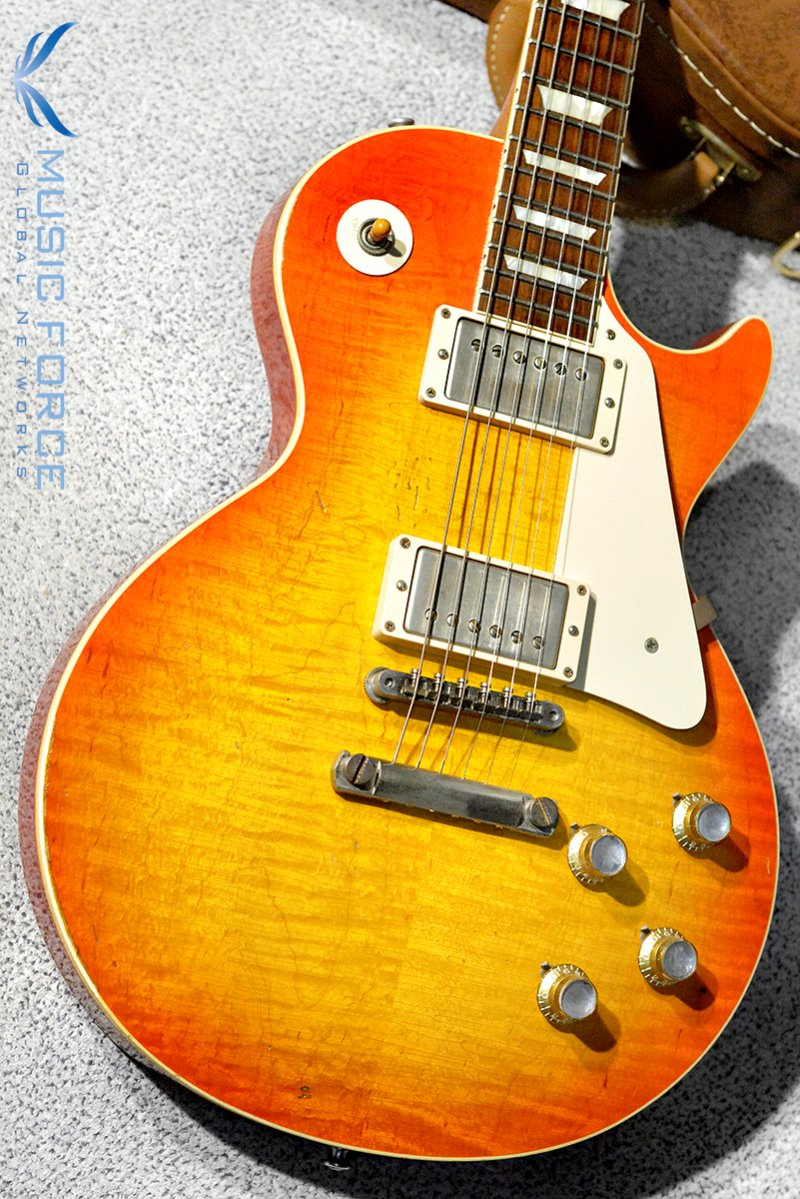 [Used/가격인하!!!] Gibson Custom 'Joe Walsh' 1960 Les Paul Reissue Limited Edition-Tangerine Burst Aged by Tom Murphy(2013년산/전세계75대한정판/Mint급중고)