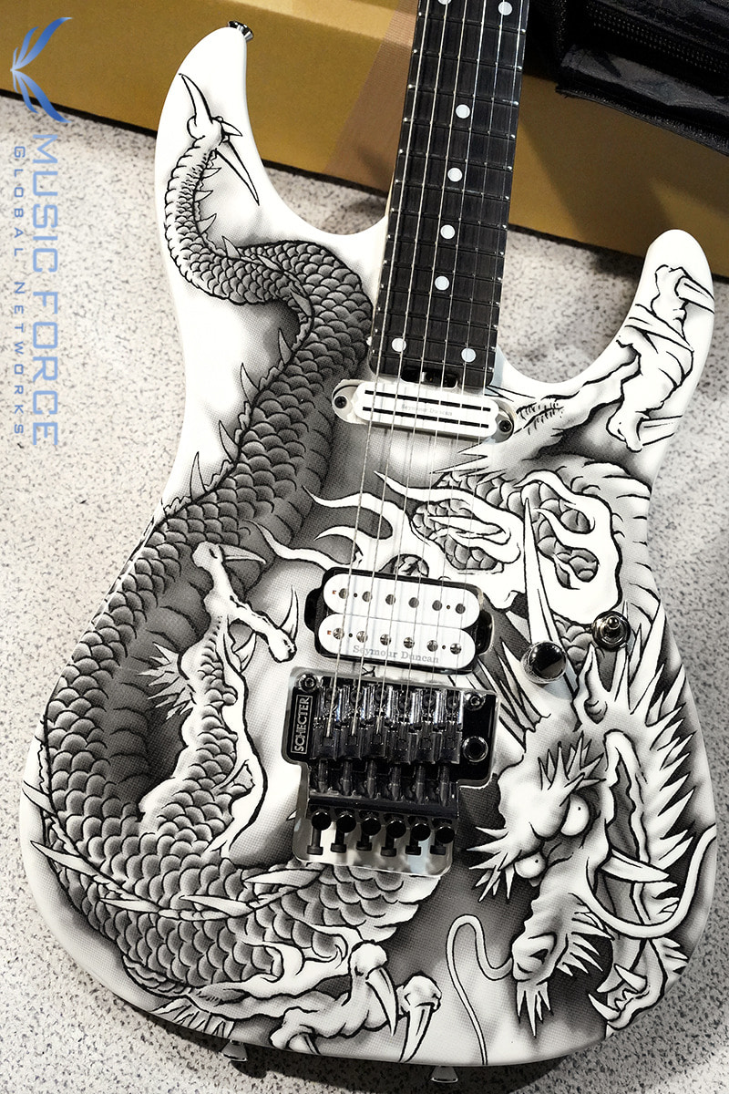 Schecter Japan PA-ZK-T6 Kobayashi Shinichi Signature-Original Dragon Print (2019년산/Made in Japan/신품) - S1912081