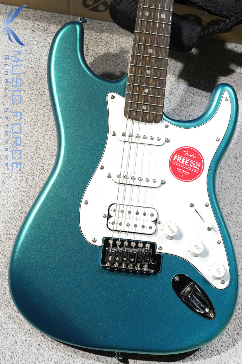 [특별세일] Squier Affinity Stratocaster SSH-Race Green w/Indian Laurel FB (2019년산/신품)