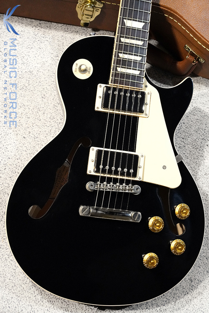 [이월상품창고대방출!] Gibson Memphis 2014 Model ES-Les Paul-Black Top(신품) - 12544714