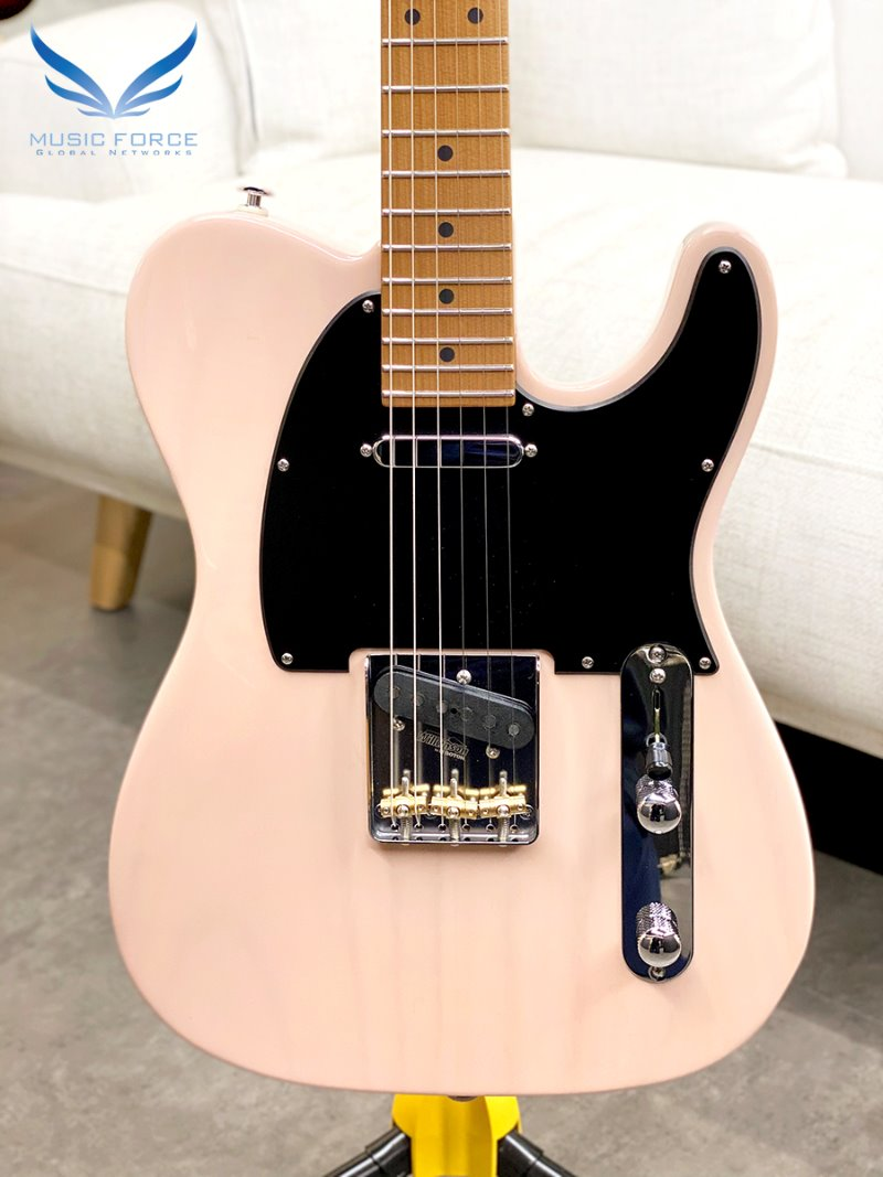 Suhr Classic T Paulownia Limited Edition-Trans Shell Pink w/Roasted Maple Neck & SSCII System (2020년산/신품)-JS5F0F