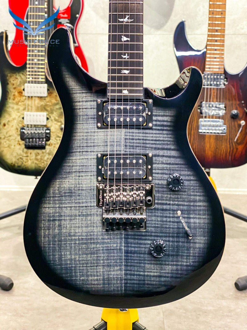 [Outlet 신품(Blem)특가!!!] PRS SE 2021 Model Custom 24 Floyd-Charcoal Burst (신품) - CTIC48161